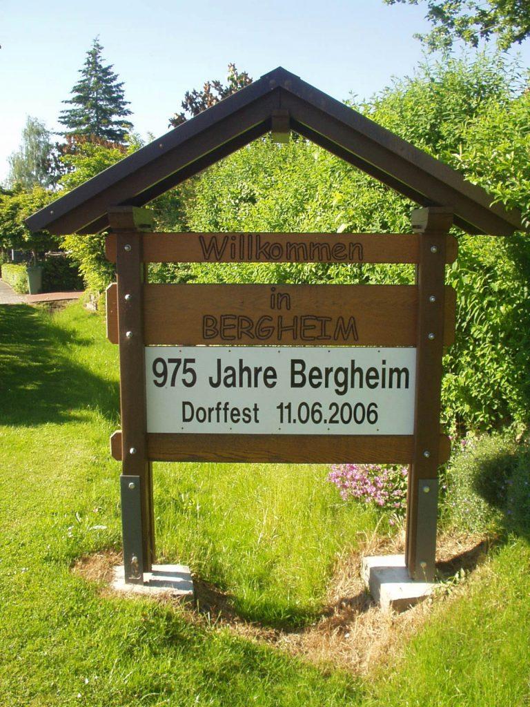 Bergheim feiert 975 Jahre